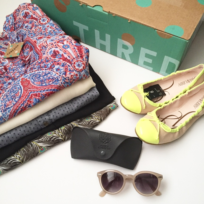 thredUP haul and shoppingtips