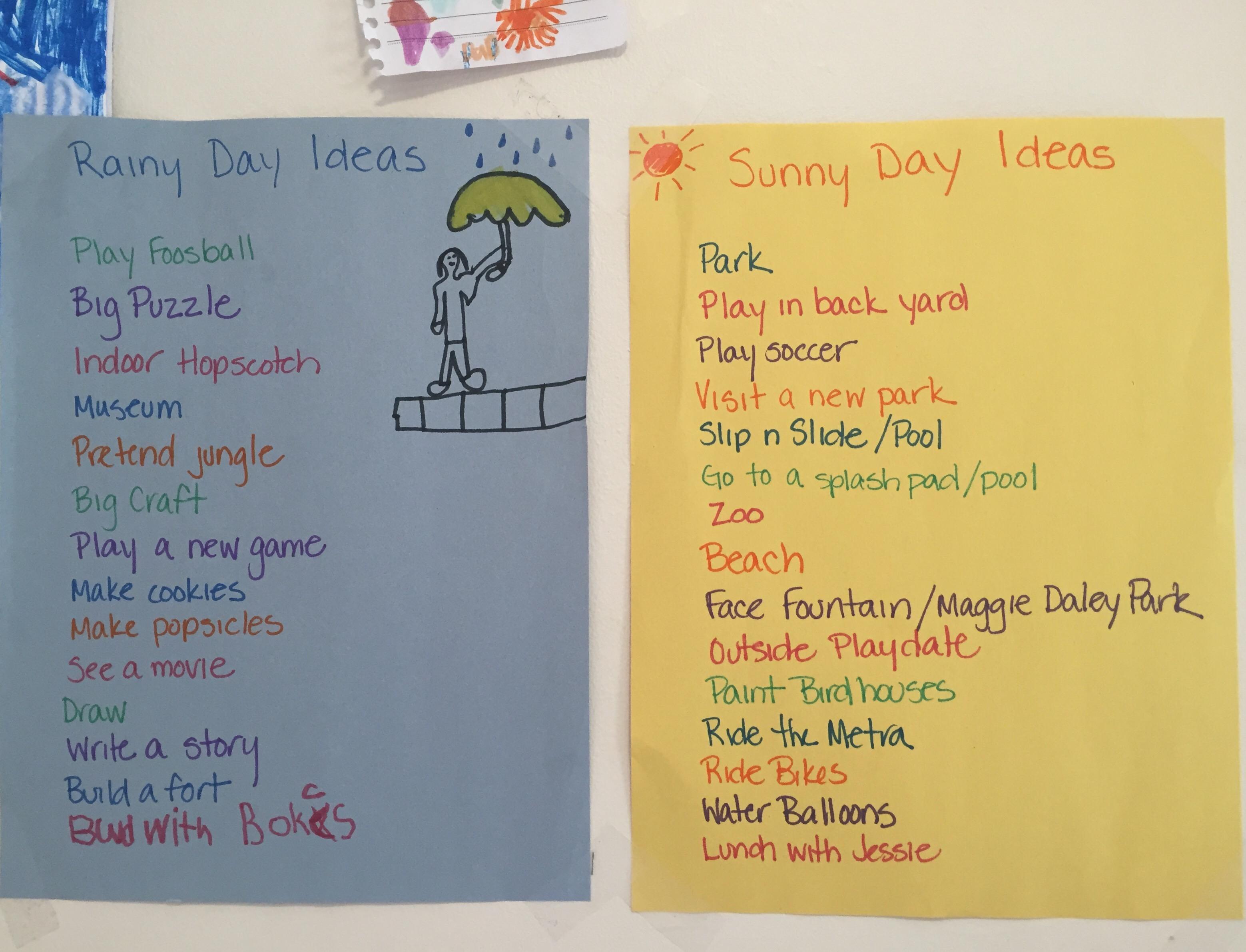 summer activity list, summer bucket list, mommy blog, mom guilt, stay at home mom, chicago blogger