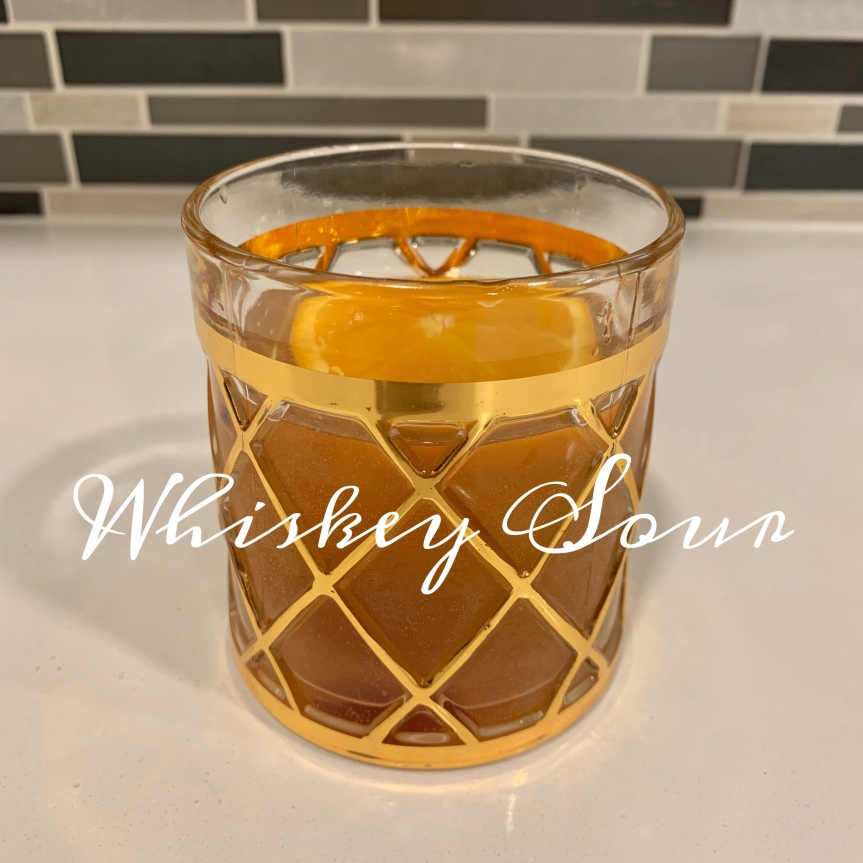 Classic Cocktail Series Day 12: WhiskeySour