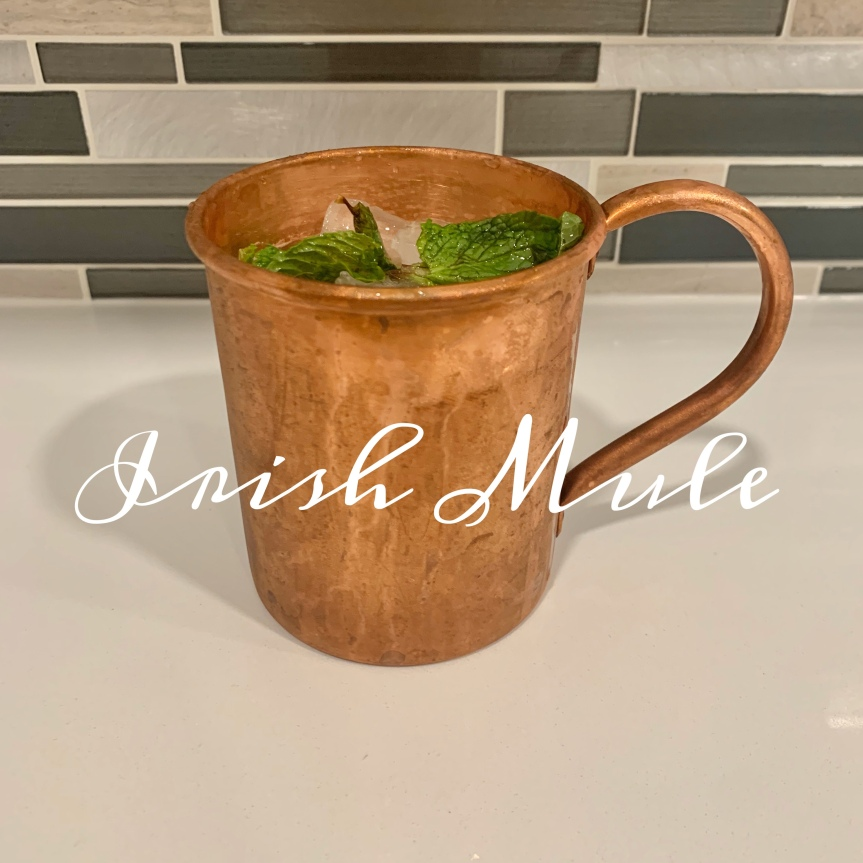 Classic Cocktail Series Day 13: Irish Mule