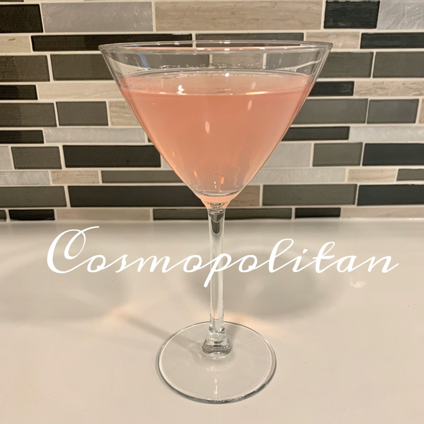 Classic Cocktail Series Day 14: Cosmopolitan